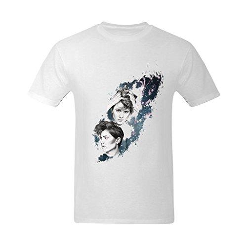 LittleArt Men's Tegan And Sara Universe T-Shirt - Style T Shirts US Size 9 -