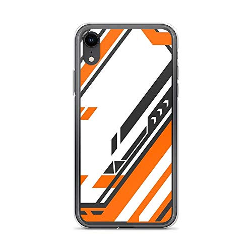 iPhone XR Case Clear Anti-Scratch Shock Absorption CSGO | Asiimov Pattern v2, cs Cover Phone Cases for iPhone XR