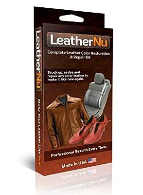 LeatherNu Complete Leather Color Restoration & Repair Kit