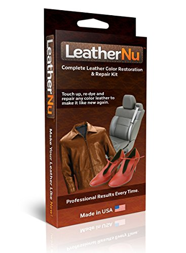 LeatherNu Complete Leather Color Restoration & Repair Kit (Best Leather Restoration Products)