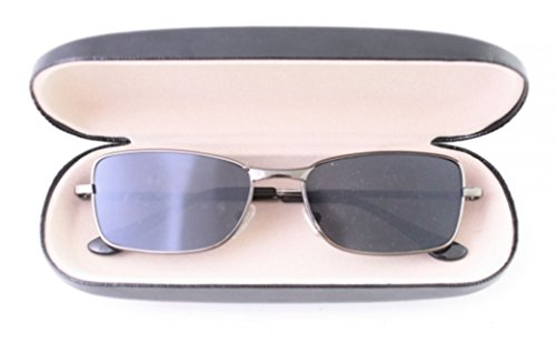 Anti-Track UV Protection Surveillance Reflex Sunglasses Mirror Black Size-Large [US Warehouse] by Superjune ()