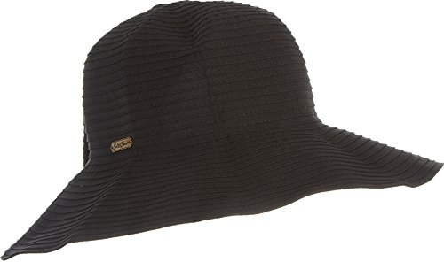 - Sun 'N' Sand Classic Snap & Go Hat (One Size - Black)