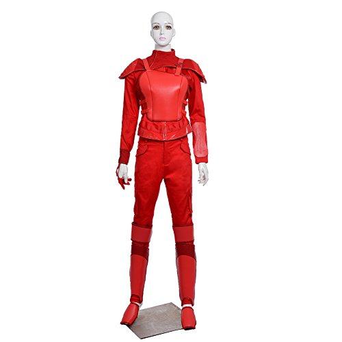 MagicCosplay Women's The Hunger Games Mockingjay Katniss Everdeen Cosplay Costume(S) (Katniss Everdeen Halloween Costumes)