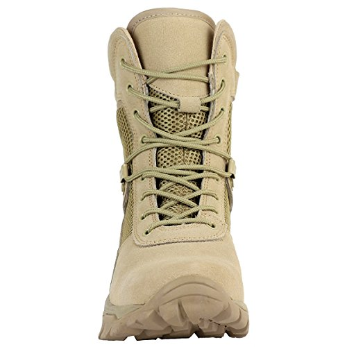 214627a7f9c Maelstrom Men's LANDSHIP 8 Inch Military Tactical Duty Work Boot ...