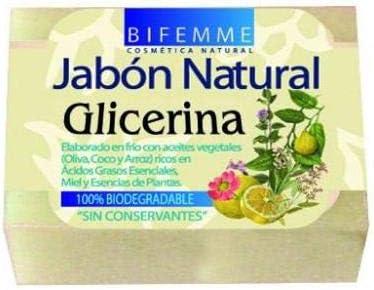 Bifemme Jabón de glicerina - 100 gr: Amazon.es: Belleza