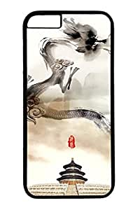 Brian114 China Dragon Oriental Style 30 Phone Case for the iPhone 6 Plus Black