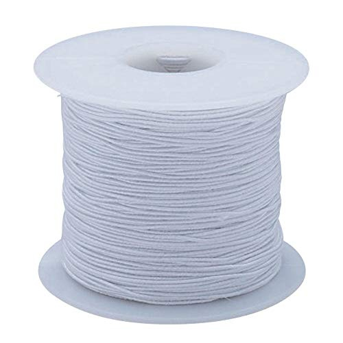 (S&S Worldwide na S&S Worldwide White Medium Elastic Cord)