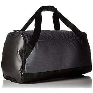 Nike Brasilia (Medium) Training Duffel Bag Flint Grey/Black/White Size Medium