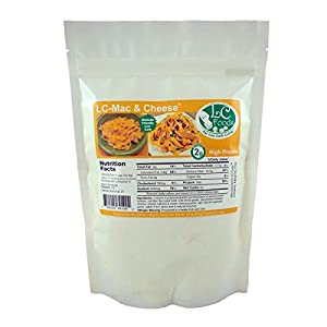 Low Carb Mac & Cheese Mix - LC Foods - All Natural - No Sugar - Diabetic Friendly - 6.56 oz
