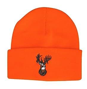 Outdoor Cap Beanie Blaze with Deer Orange