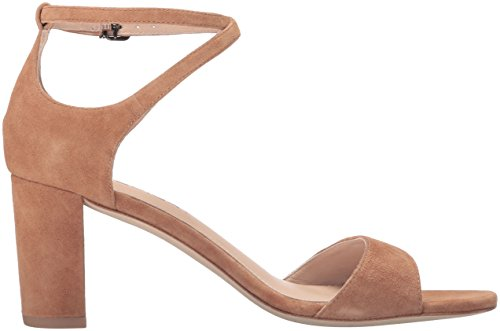 Via Spiga Women's Wendi Block Heel Dress Sandal Beech Suede free shipping high quality buy cheap with mastercard latest collections for sale 9SYCJcG