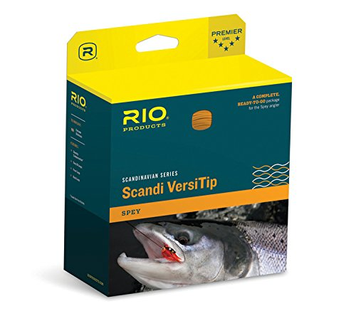RIO Fly Fishing Fly Line Scandia Short Varsity 8 Fishing Line, Strait Orange Loop ()
