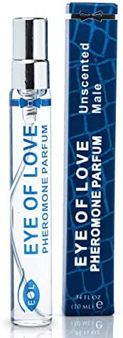 Eye of Love Male Unscented Pheromone Perfume Spray - Confidence & Elegance - Extra Strength Human Pheromones Formula - 10ml
