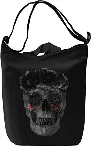 Bloody Tears Borsa Giornaliera Canvas Canvas Day Bag| 100% Premium Cotton Canvas| DTG Printing|