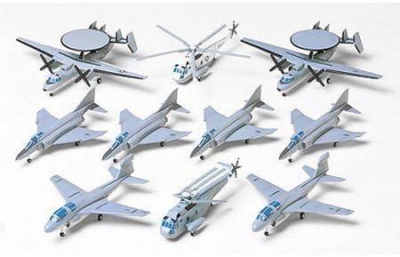 Tamiya - Set de aviones para portaaviones eeuu (b) escala 1:350