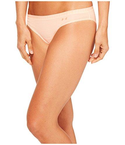 Under Armour Women's Sheers Novelty Bikini, Playful Peach (164)/Playful Peach, Small ()