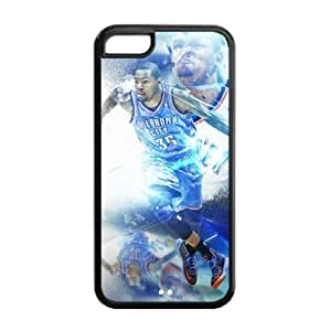 Oklahoma City Thunder Kevin Durant Image Design iPhone 5C TPU Case-by Allthingsbasketball