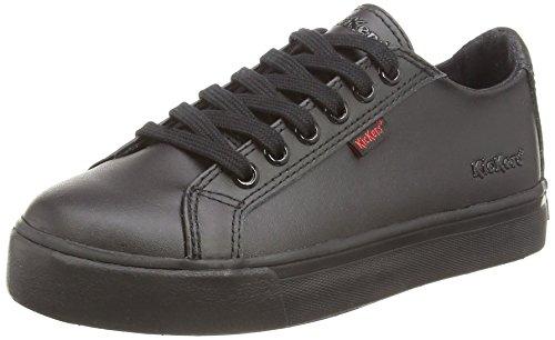 Kickers Tovni Lace, Junior - Zapatillas para niño Negro (black)