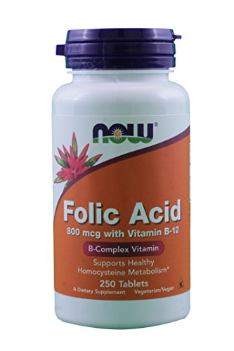NOW Foods Folic Acid Tabs