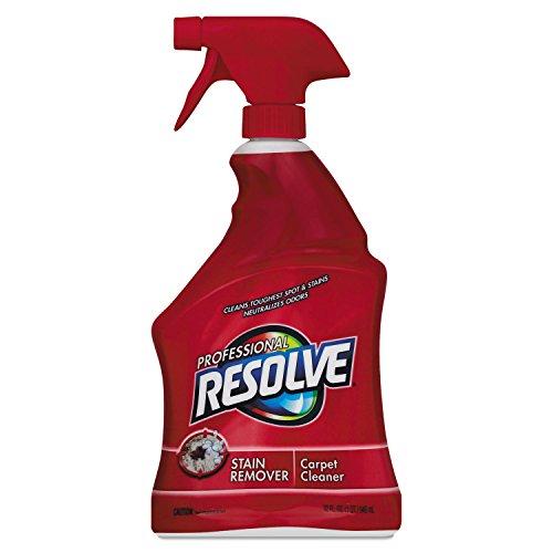 (Professional RESOLVE 97402EA Spot & Stain Carpet Cleaner, 32oz Spray Bottle)