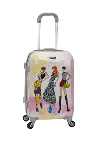 Rockland 20 Polycarbonate Carry On, Fashion