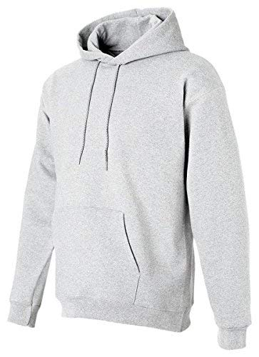 Cotton Hooded Ultimate Pullover (Hanes Mens Ultimate Cotton Pullover Hooded Sweatshirt, Large, Ash)