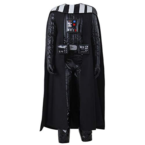 CosplayDiy Men's Costume Suit for Darth Vader Cosplay XL Black -