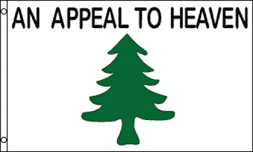 1000 Flags Liberty Tree Flag Appeal To Heaven Washington Cruisers Revolutionary War Banner