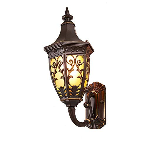 Mingc Outdoor Wall lamp, European Waterproof Wall lamp Fixture, Stair Balcony Retro