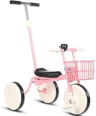 LIWORD Triciclo para Niños Trolley para Bicicletas Bicicleta para ...