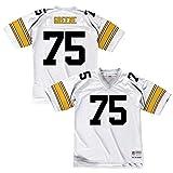 Pittsburgh Steelers Joe Greene 1976 Mitchell & Ness Throwback Jersey White (Medium)