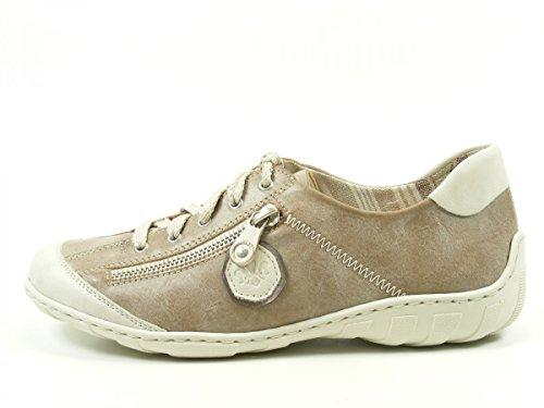Rieker - Botas para mujer Grau