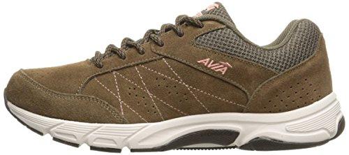 Avi Walking Women's Coral Ecru Snowline Shoe Journey Chip Chocolate Soft Avia Rw6FAqa