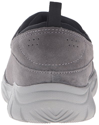 Crocs Swiftwater Suede Moc - Zapatillas Hombre Nero (Charcoal/Smoke)