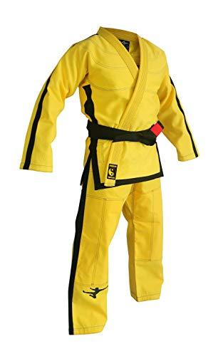 FLUORY Lightweight BJJ Gi,Brazilian Jiu Jitsu Uniform for Men & - Mens Uniform Womens