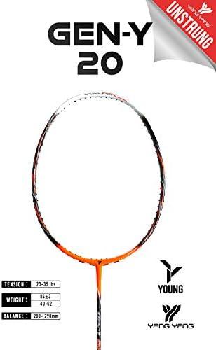 YANG-YANG Professional Series Lightweight High Modulus Graphite Badminton Racket Vital Material