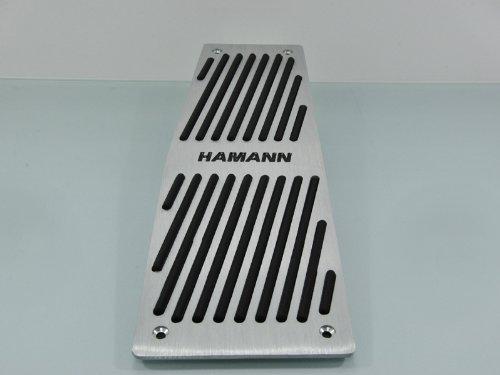 Wotefusi Car New Aluminium Alloy Accelerator Brake Clutch Pad Gas Petrol Foot Rest Pedal Set for BMW E60,X5,X6,5 Series at
