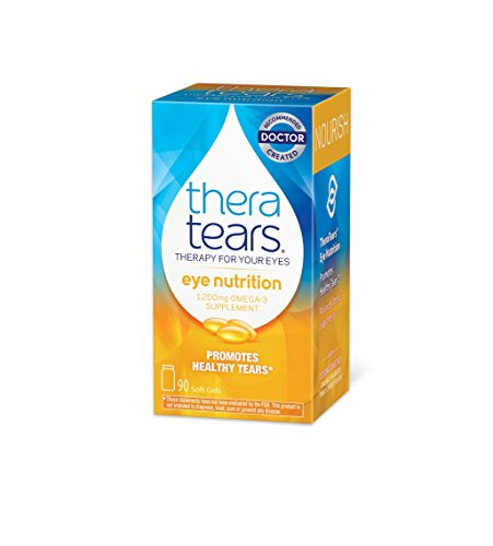 TheraTears Eye Nutrition- 90 CT- Omega 3 Supplement (Vitamins & Nutrition)