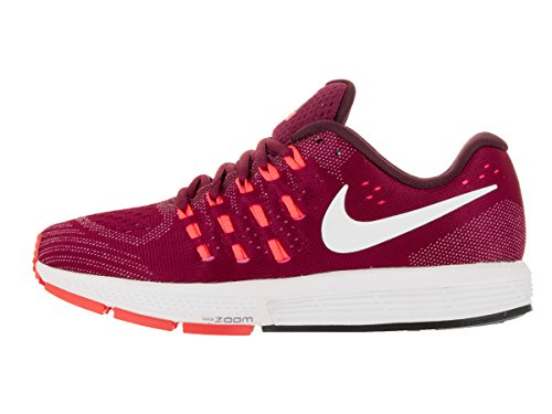 Nike Womens Air Zoom Vomero 11 Scarpa Da Corsa Nobel Rosso / Bianco-luminoso Mango-night Marrone