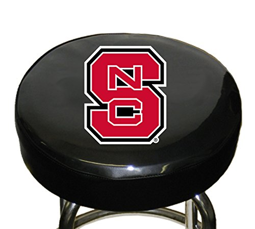 NCAA North Carolina State Bar Stool Cover, One Size, Multicolor (Bar State Stool Wolfpack)