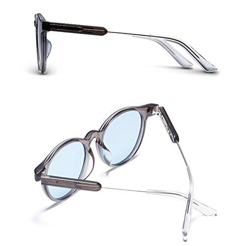 Mode lunettes lentille cadre Rétro C colorée lunettes hommes TAC soleil rétro Lady soleil de conduire lentille Joker de soleil de lunettes Polariseur rxr4Rz