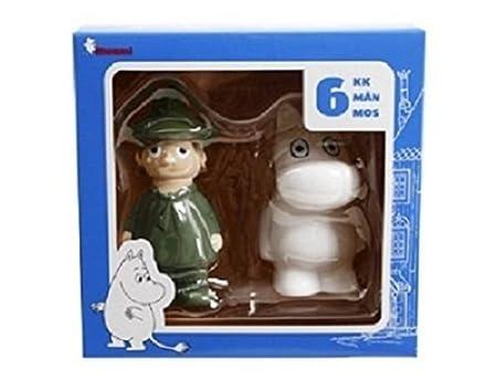 Cute Fun Moomin Characters (Moomin & Snufkin) Baby Bath Toys - Age ...