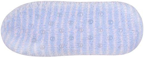 Calcetines De Interior Del Deslizador Dormitorio Zapatillas De Vestir Borroso Antideslizante Zapatos De Casa Para Mujeres Niñas Azul
