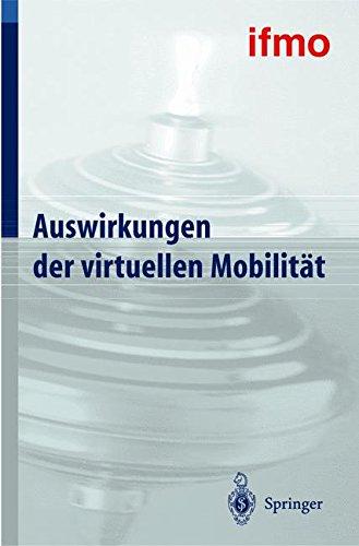 Auswirkungen der virtuellen Mobilität (Mobilitätsverhalten in der Freizeit) Gebundenes Buch – 8. Januar 2004 Walter Hell Springer 3540202331 COMPUTERS / Social Aspects