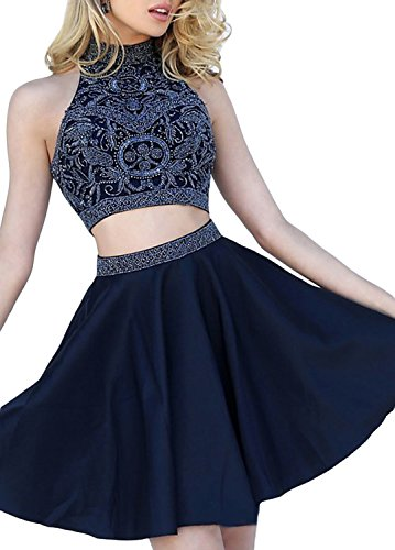 2 Piece Short Dress Cocktail Dress - 5