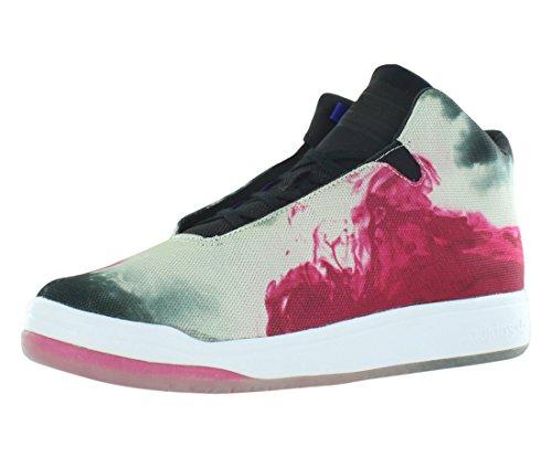 Chaussures Adidas Veritas Mid # B24557 Cblack, Ftwwht, Ngtfla