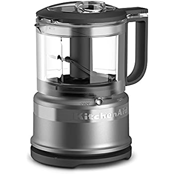 KitchenAid KFC3516CU 3.5 Cup Mini Food Processor, Contour Silver