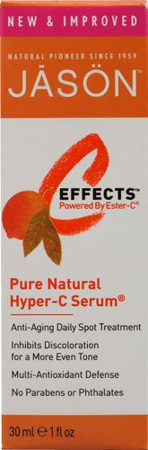 Jason C Effects Pure Natural - Jason C-Effects? Powered By Ester-C Pure Natural Hyper-C Serum -- 1 fl oz - 2pc