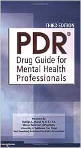 Pdr drug guide for mental health professionals by physicians' desk.