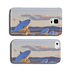 Very Large Array Satellite Dishes at Sunset in New Mexico, USA cell phone cover case iPhone6